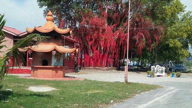 A place with a wishing tree...near Pantai Redang Sekinchan Selangor