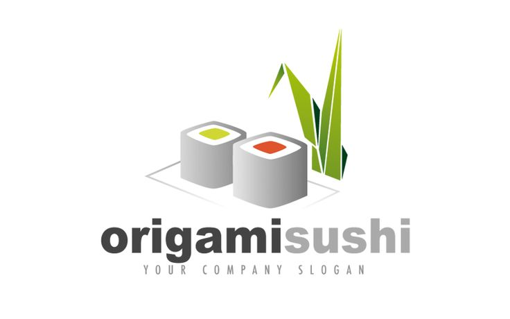 Un Logo personalizzabile per Alimentari. logo per ristoranti a carattere giapponese