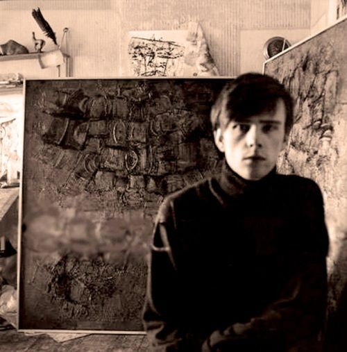 """""""Stuart Sutcliffe was very spotty with horn-rimmed glasses and, just like John's, they were taped up at the edges. As a student, he was precisely the opposite of John, because he was working himself to death, totally dedicated. He wasn't eating properly and didn't have much to do with girls. His work was all-important to him."""" -Cynthia Lennon"""