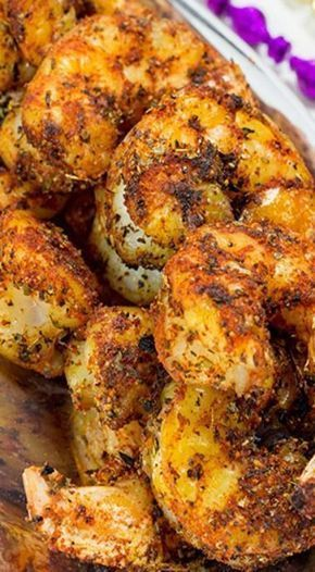 Cajun Grilled Shrimp with Spicy Dipping Sauce - Best Seafood Recipe Ideas