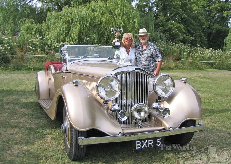 Bentley 3.5 Derby Vanden Plas style 1935 for sale