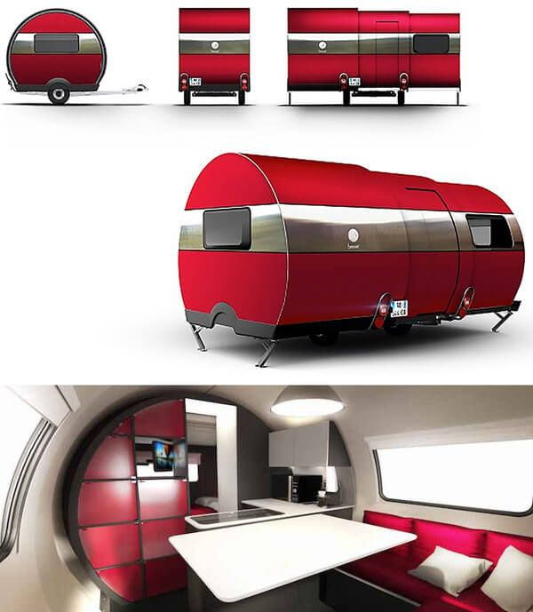 With a Simple Push Of a Button This Camper Van Expands Three Times In Size : http://theawesomedaily.com/with-a-simple-push-of-a-button-this-camper-van-expands-three-times-in-size/ #cars
