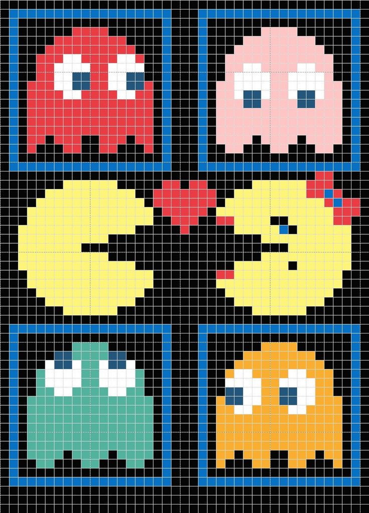 I got a few requests for my pac-man pillow chart so I decided to post it. The pillow was done using Tunisian crochet. If you look at my earlier post my first ravelry swap you can find out all about...