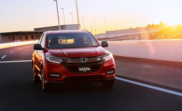2019 Honda Hr V Updates Previewed By Japan Market Vezel Refresh Honda Hrv Car Insurance Inexpensive Car Insurance