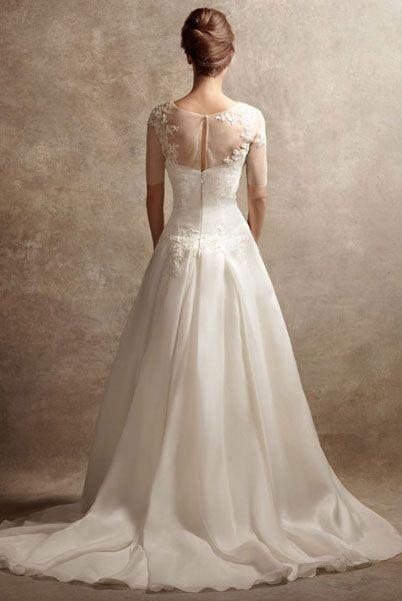 Свадебные платья с кружевом от Веры Вонг