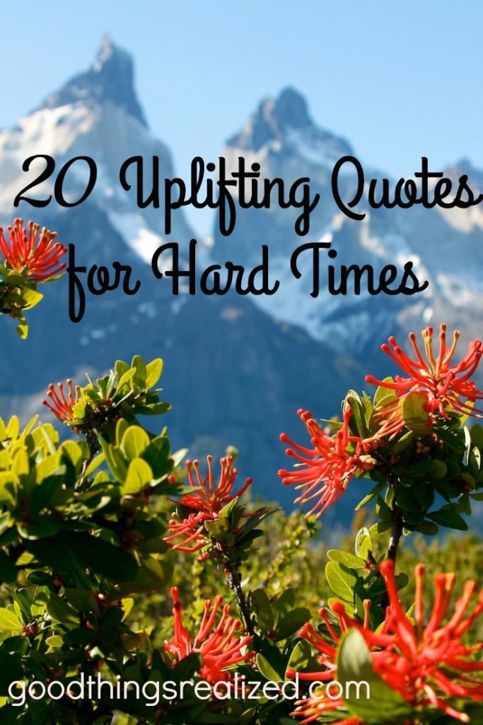 20 Powerfully Inspiring Quotes For Tough Times: Quotes Can Give Us Hope, Motivation, And Inspiration To