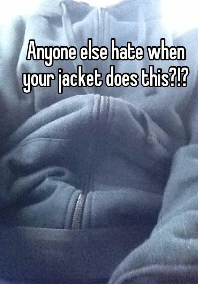 jacket fail