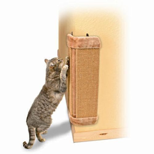 24 Quot Corner Wall Mounted Vertical Sisal Cat Scratching Post