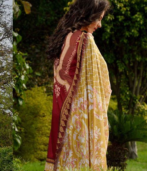 Gohar Embroidered Lawn Suits Collection G_09