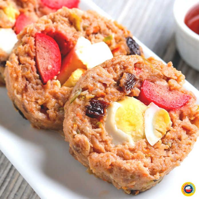 View Embutido Recipe (Filipino Style Meatloaf) Images