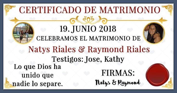 ¿Con quién te casarás? ¡Echa un vistazo a tu certificado de matrimonio!