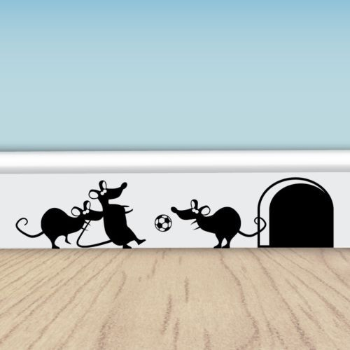 Funny-Football-Mice-Vinyl-Wall-Stickers-for-Walls-Doors-Skirting