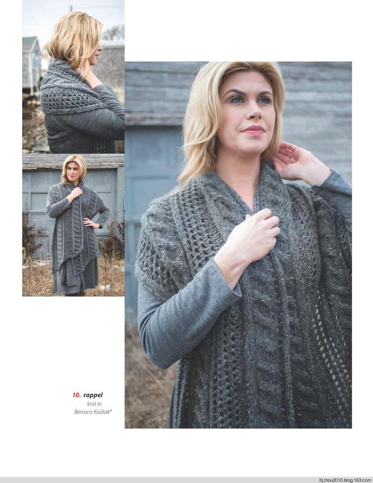 Berroco Norah Gaughan Collection Vol.15 2015 - 紫苏 - 紫苏的博客