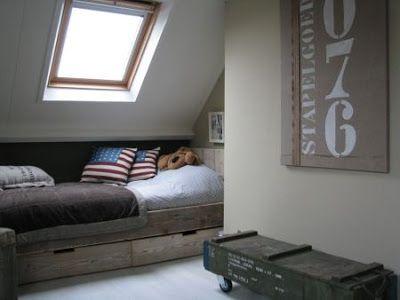 14 best images about slaapkamer twan op pinterest vintage bureau 39 s en bureaus - Jarige jongenskamer ...