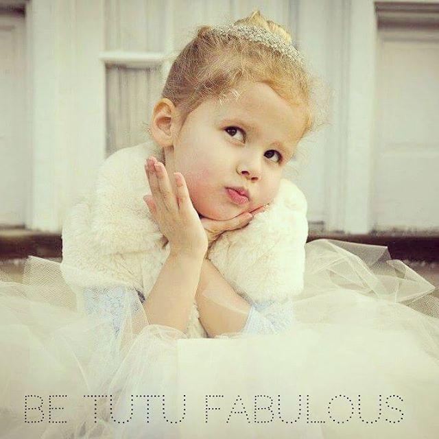 Just a reminder to always be Tutu Fabulous! #princessdoodlebeans #tutu #etsy #flowergirl
