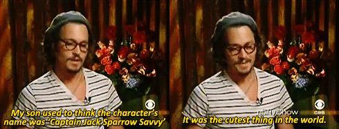 Jack sparrow savvy. Aww. ^_^