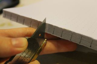 DIY book binding, without all the typical book binding apparatus