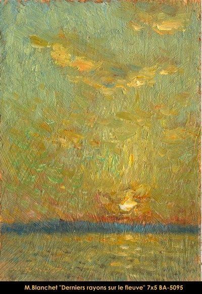 Original oil painting on canevas by Martin Blanchet #MartinBlanchet #Artist #CanadianArtist #QuebecArtist #Art #Oilpainting #OriginalPainting #FineArt #Landscape #Sunset #River #Balcondart #MultiArtLtee