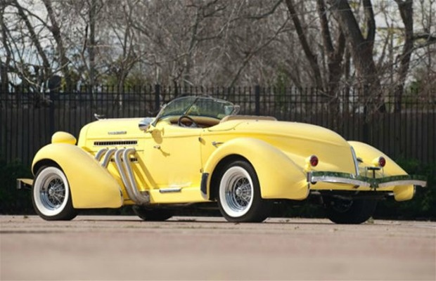 1936 Auburn Boattail Speedster. A Replica Of This Was