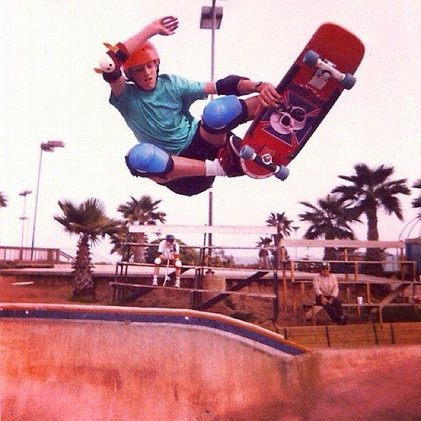 Tony Hawk, 1985.
