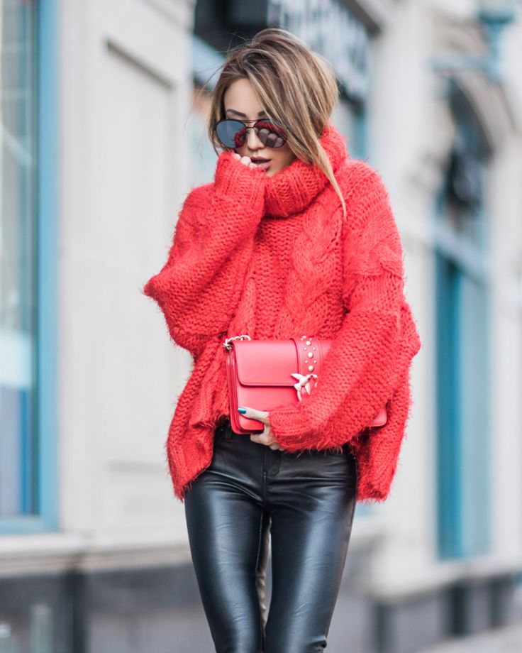 Chunky Knit Winter Outfits // NotJessFashion.com