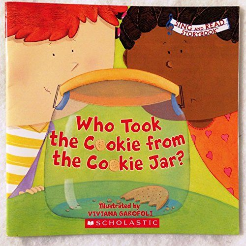 Who Took The Cookie From The Cookie Jar Book 1000 Best Melanie's Reading Log  1000 Books Before Kindergarten