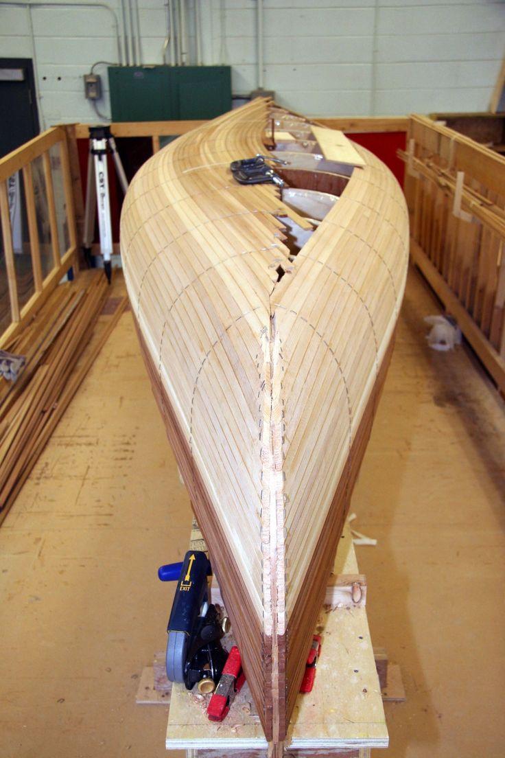 Mahogany Canoe