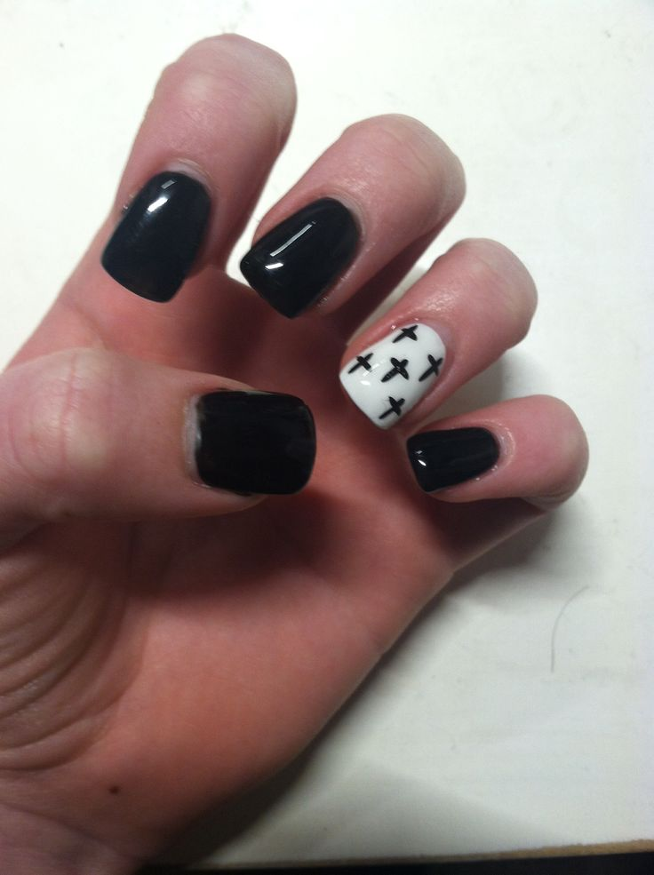 pastel goth nails | Lily's board | Pinterest | Pastel goth ...