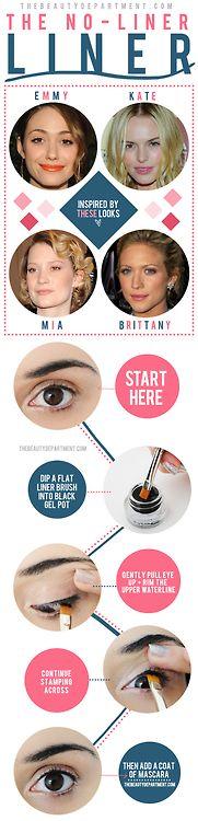 no-liner liner eye makeup tutorial