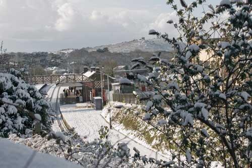 Snow in Redruth, Cornwall   anysnapz02