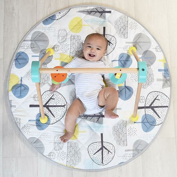 Kick your feet up, it's Friday! 🏕️ Flop down anywhere with the all new Woods Collection playmat!  _ #fridayfeels #playtime #playmat #babymat #tummytime #feetintheair #baby #babylove #babystyle #babyshop #babylife #babyvillage #babyvillagestore #sale #stokkebaby #repost @livingtextiles