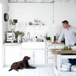 The North-London house of photographer Paul Massey (his kitchen is featured in 'The Delicious Miss Dahl')