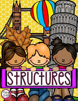 This product was created to complement the Ontario Curriculum Grade 3 Science strand; UNDERSTANDING STRUCTURES AND MECHANISMS: STRONG AND STABLE STRUCTURES* Students will identify structures found in the natural environment and in the built environment.