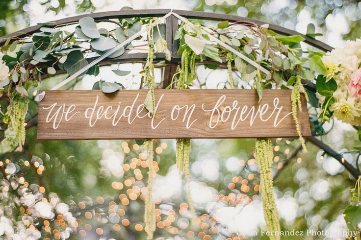 22 Creative Wedding Signs Your Guests Will Love!