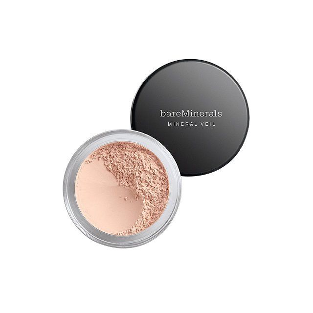 Sweep on this water-based mineral powder to keep your foundation looking fresh for hours—or use it to supercharge your skin after applying moisturizer. BareMinerals Hydrating Mineral Veil, $22, ulta.com