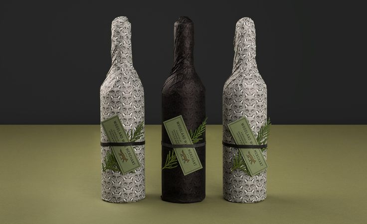 Cool wrap for wine bottles from Woodland Wine Merchant in Nashville