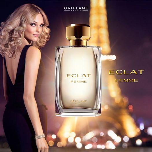 ¿Preparándote para la conquista? Un vestido negro, unas gotas de la mezcla de mandarina, jazmín y canela de Eclat Femme, ¡y estarás lista para el éxito! #EclatFemme #Fragancias #OriflameMX