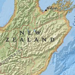 M7.4 - 53km NE of Amberley, New Zealand. Sunday, 13th November 2016. Interactive Quake Map from USGS.
