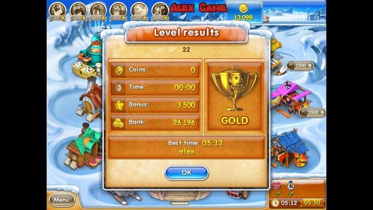 Farm Frenzy 3 Ice Age (level 22) only GOLD Веселая ферма 3 Ледниковый период (уровень 22) Золото