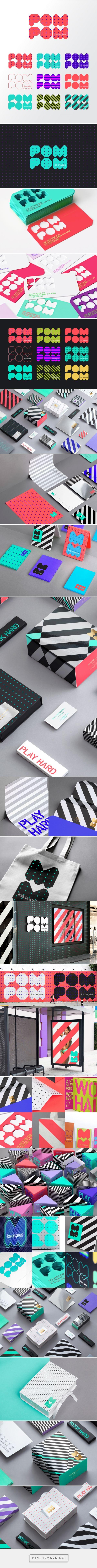 Reynolds and Reyner – Pom Pom identity design