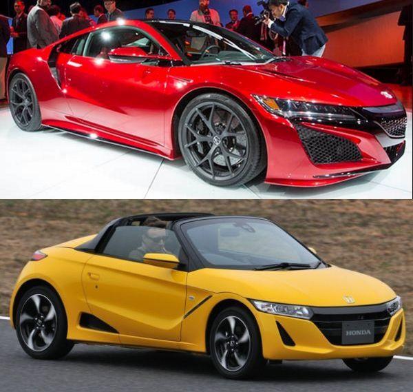 2016 Honda sports car