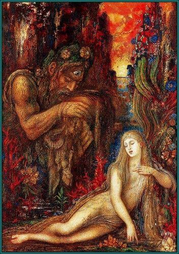 Gustav Moreau: Orpheus, Medusa, and Circe.