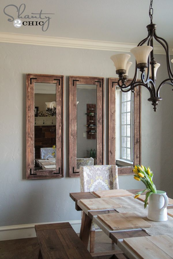 diy rustic full length mirrors - Design Wall Mirrors