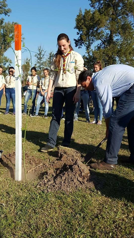 "Brinkmann: Grupo Scout San Jorge inauguró Bosquecillo ""Robert Baden Powell"""