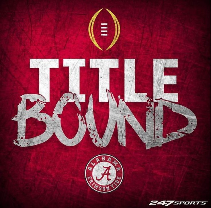 Title Bound - Alabama | Alabama 24 Washington 7 in the 2016 Peach Bowl CFB Playoff.