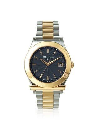 Ferragamo Men's F62LBQ9509 S095 1898 Gold IP Stainless Steel Watch