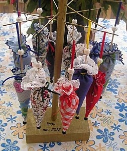 ombrelles lavande