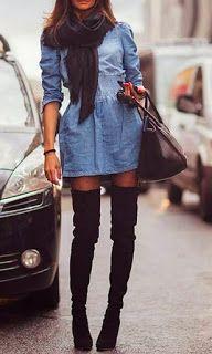 Meninas Apaixonadas: Looks para usar com bota cano longo