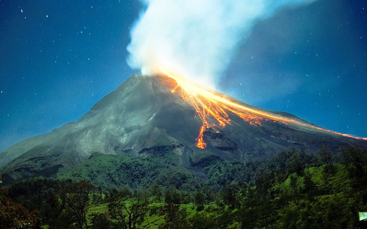 volcano Mount Merapi - Crafting in Central Java - The Ultimate Travel + Leisure Bucket List | Travel + Leisure