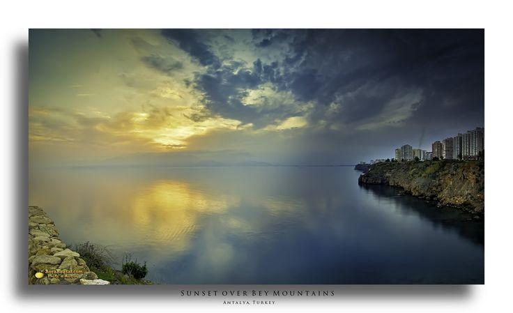 Sunset over Bey Mountains ~ Antalya, Turkey. by Bora Baysal on 500px